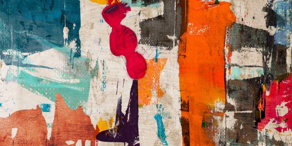 konfigurieren des Kunstdrucks in Wunschgröße Colors Royale von Munson, Anne