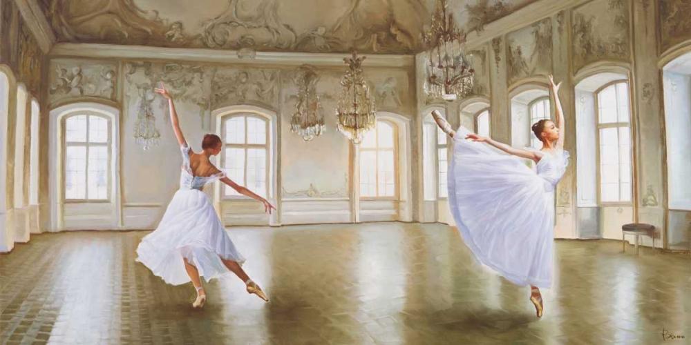 konfigurieren des Kunstdrucks in Wunschgröße Le Grand Salon von Benson, Pierre