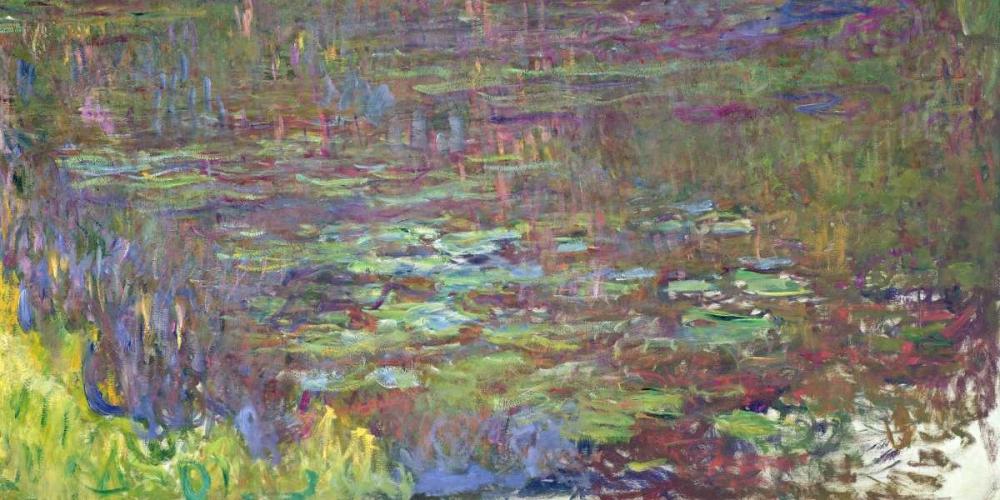 konfigurieren des Kunstdrucks in Wunschgröße Waterlilies at Sunset von Monet, Claude