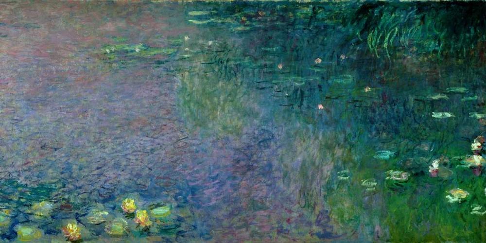 konfigurieren des Kunstdrucks in Wunschgröße Morning (detail II) von Monet, Claude