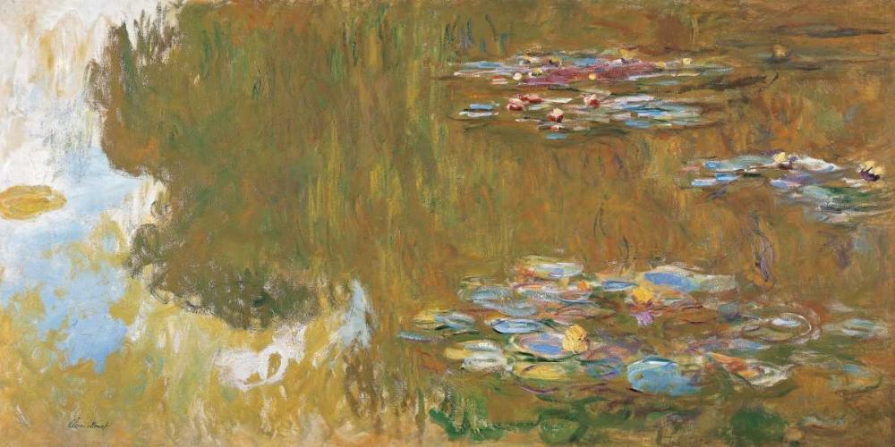 konfigurieren des Kunstdrucks in Wunschgröße The Water Lily Pond von Monet, Claude
