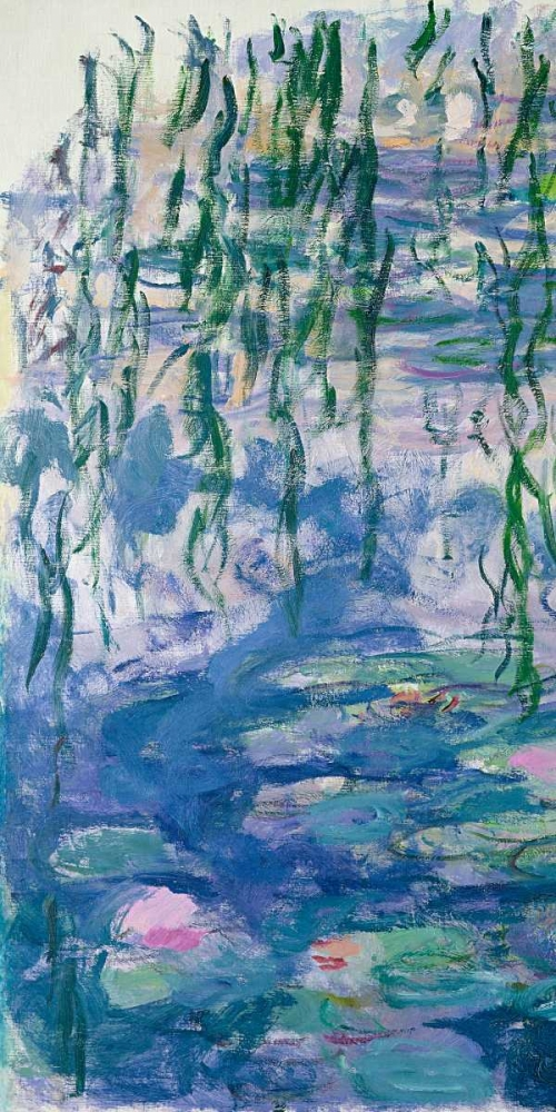 .,Landscape,Nature,,,,2CM1514,Waterlilies I,Monet, Claude,Vertical