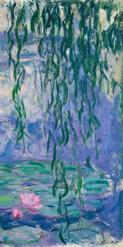 konfigurieren des Kunstdrucks in Wunschgröße Waterlilies III von Monet, Claude