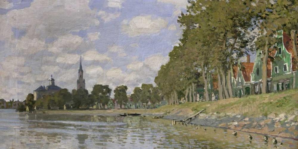 konfigurieren des Kunstdrucks in Wunschgröße Zaandam, Holland (detail) von Monet, Claude