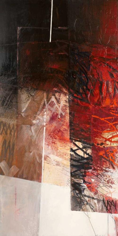 konfigurieren des Kunstdrucks in Wunschgröße Paesaggio I von Censini