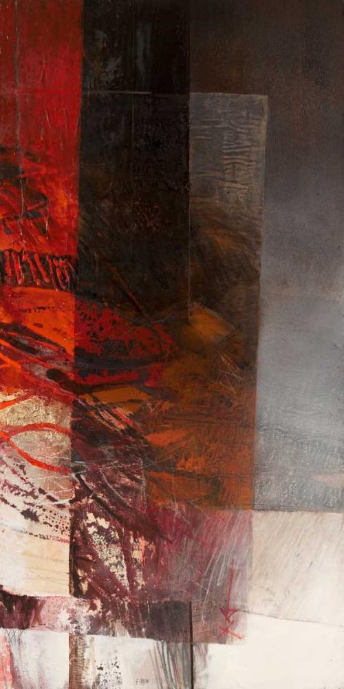 konfigurieren des Kunstdrucks in Wunschgröße Paesaggio II von Censini