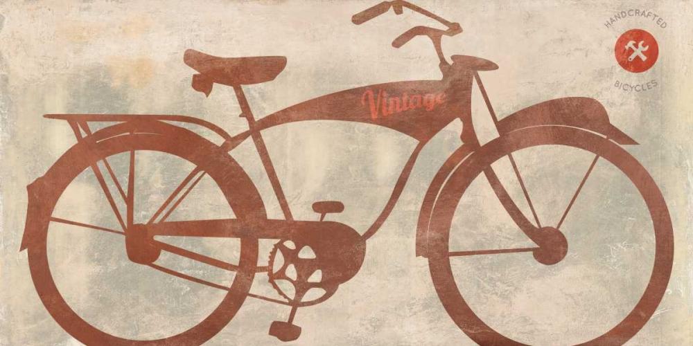 konfigurieren des Kunstdrucks in Wunschgröße Vintage Bike von Teller, Skip