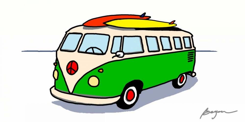 konfigurieren des Kunstdrucks in Wunschgröße Peace Wagon von Beyon, Carlos