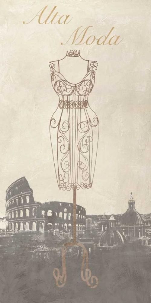 konfigurieren des Kunstdrucks in Wunschgröße Alta Moda von Dellal, Remy