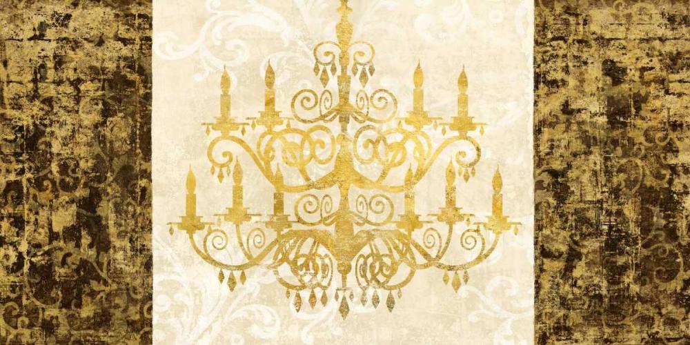 konfigurieren des Kunstdrucks in Wunschgröße Chandelier Royale von Dellal, Remy