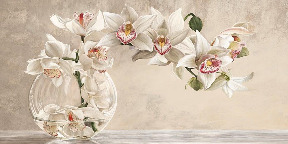 konfigurieren des Kunstdrucks in Wunschgröße Orchid Arrangement I von Dellal, Remy