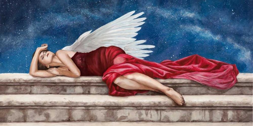 konfigurieren des Kunstdrucks in Wunschgröße Under a Starry Night von Duval, Sonya