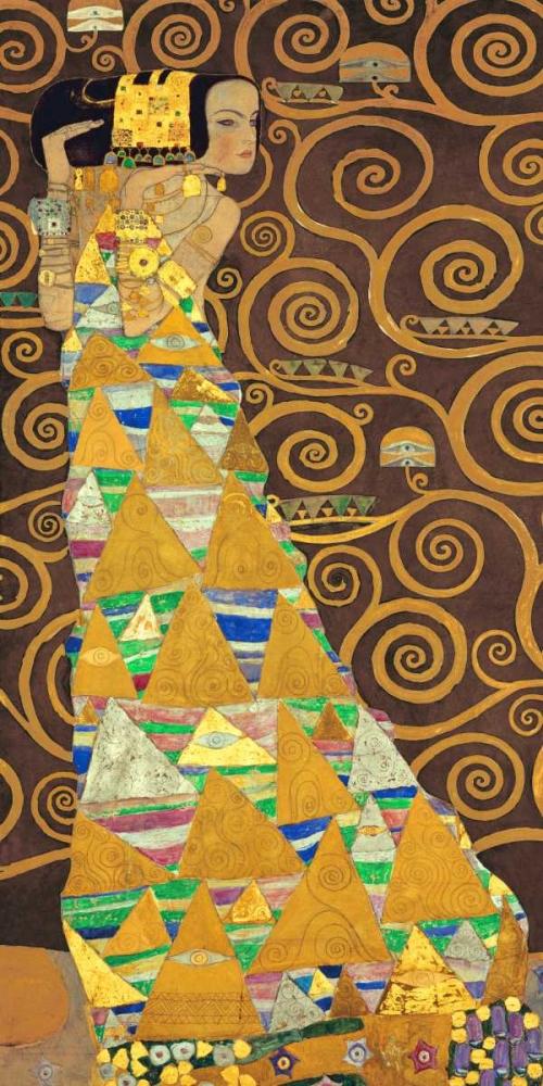 konfigurieren des Kunstdrucks in Wunschgröße Tree of Life-Brown I von Klimt, Gustav