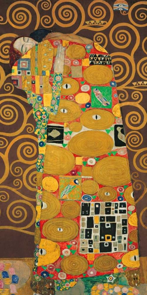 konfigurieren des Kunstdrucks in Wunschgröße Tree of Life-Brown III von Klimt, Gustav