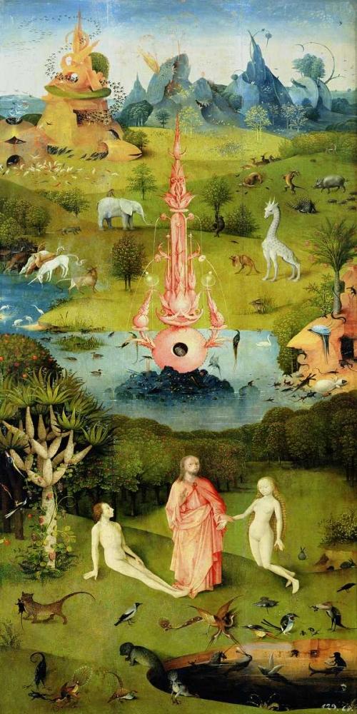 konfigurieren des Kunstdrucks in Wunschgröße The Garden of Earthly Delights I von Bosch, Hieronymus