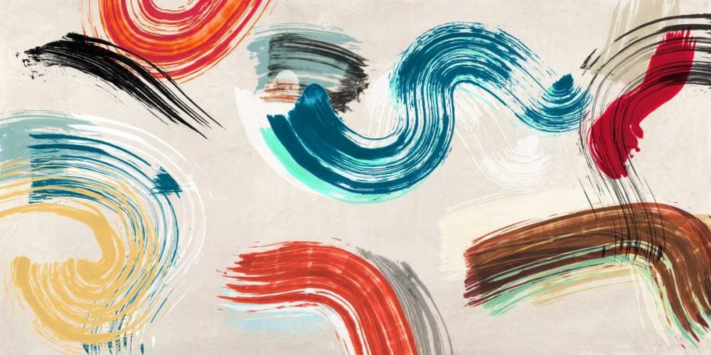 konfigurieren des Kunstdrucks in Wunschgröße Motionade I von Ikeda, Haru
