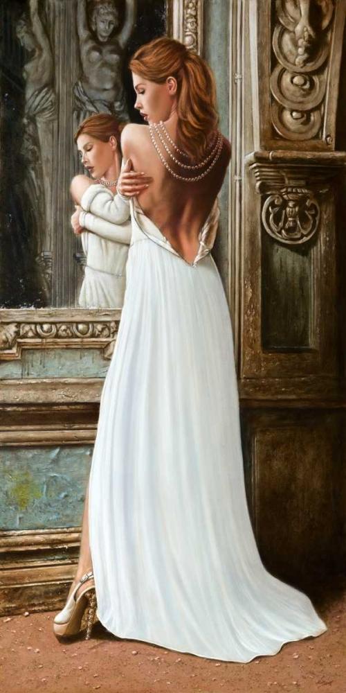 At the Mirror von Silver, John <br> max. 94 x 191cm <br> Preis: ab 10€