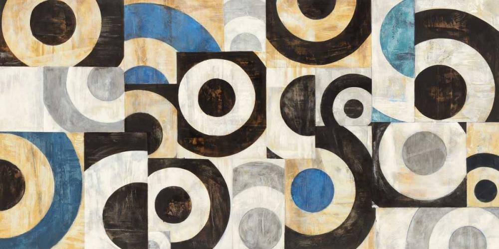 konfigurieren des Kunstdrucks in Wunschgröße Universo circolare von Nava, Sandro