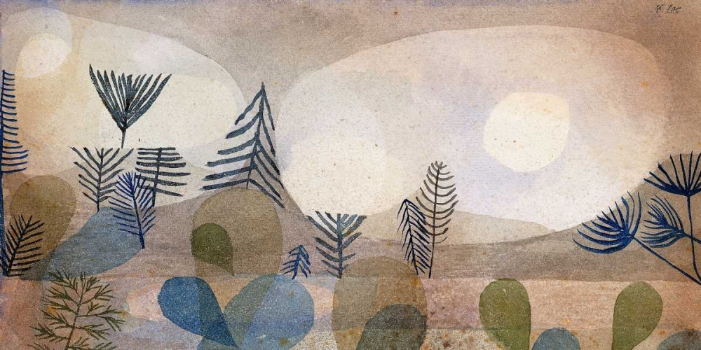 masters,Abstract,,,,,2PK1944,Oceanic Landscape,Klee, Paul,Horizontal