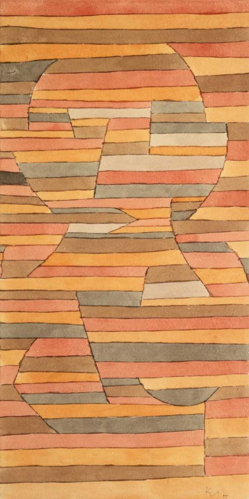 konfigurieren des Kunstdrucks in Wunschgröße Solitary von Klee, Paul