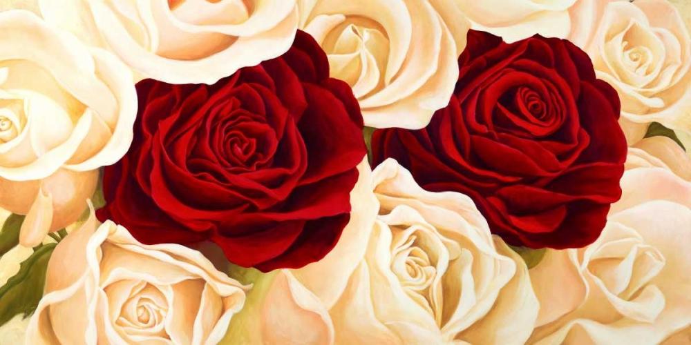 konfigurieren des Kunstdrucks in Wunschgröße Rose composition von Biffi, Serena