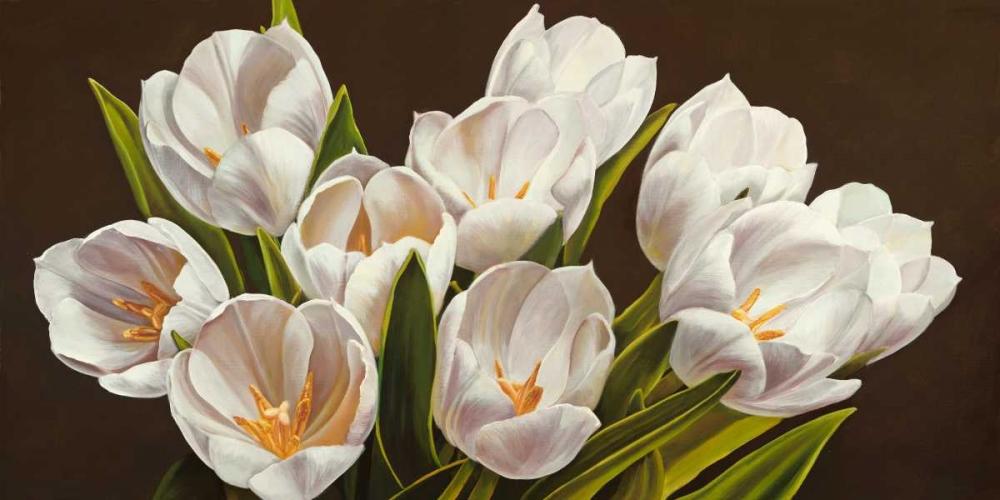 konfigurieren des Kunstdrucks in Wunschgröße Bouquet di tulipani von Biffi, Serena