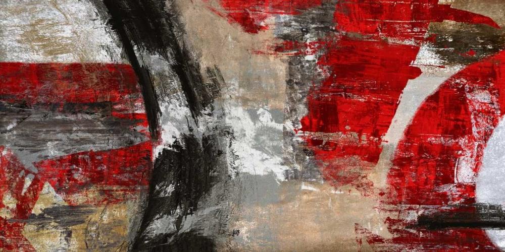konfigurieren des Kunstdrucks in Wunschgröße Red Tornado von Stone, Jim