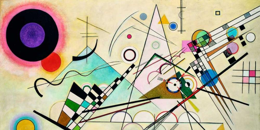 konfigurieren des Kunstdrucks in Wunschgröße Composition VIII (detail) von Kandinsky, Wassily