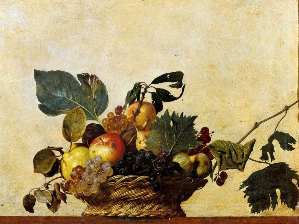 konfigurieren des Kunstdrucks in Wunschgröße Canestra di frutta von Caravaggio