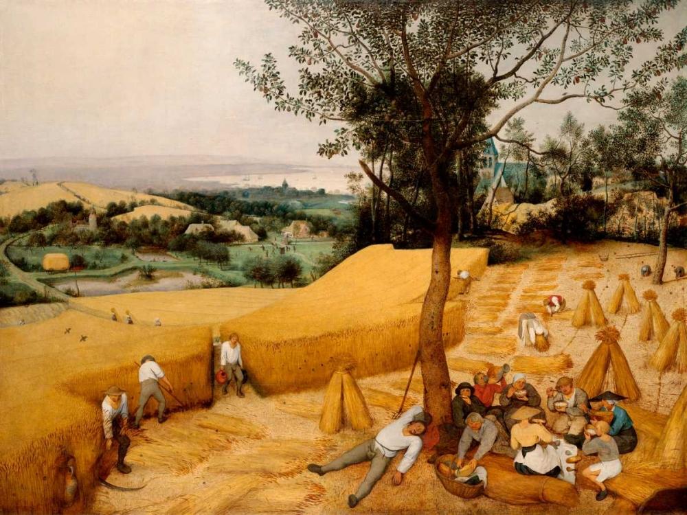 konfigurieren des Kunstdrucks in Wunschgröße The Harvesters von Bruegel, Pieter the Elder