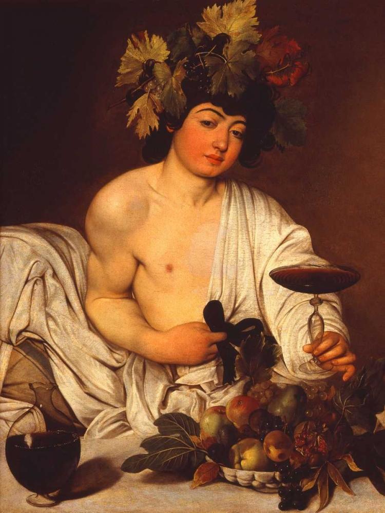 konfigurieren des Kunstdrucks in Wunschgröße Bacco adolescente von Caravaggio