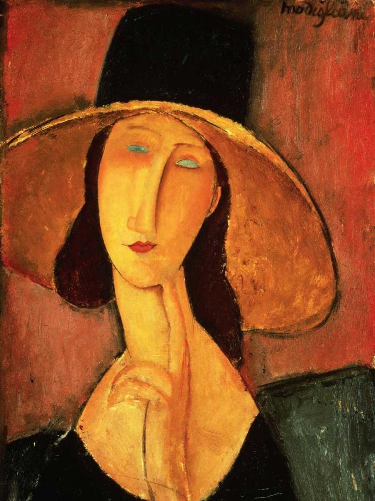 konfigurieren des Kunstdrucks in Wunschgröße Portrait of Jeanne Hebuterne von Modigliani, Amedeo