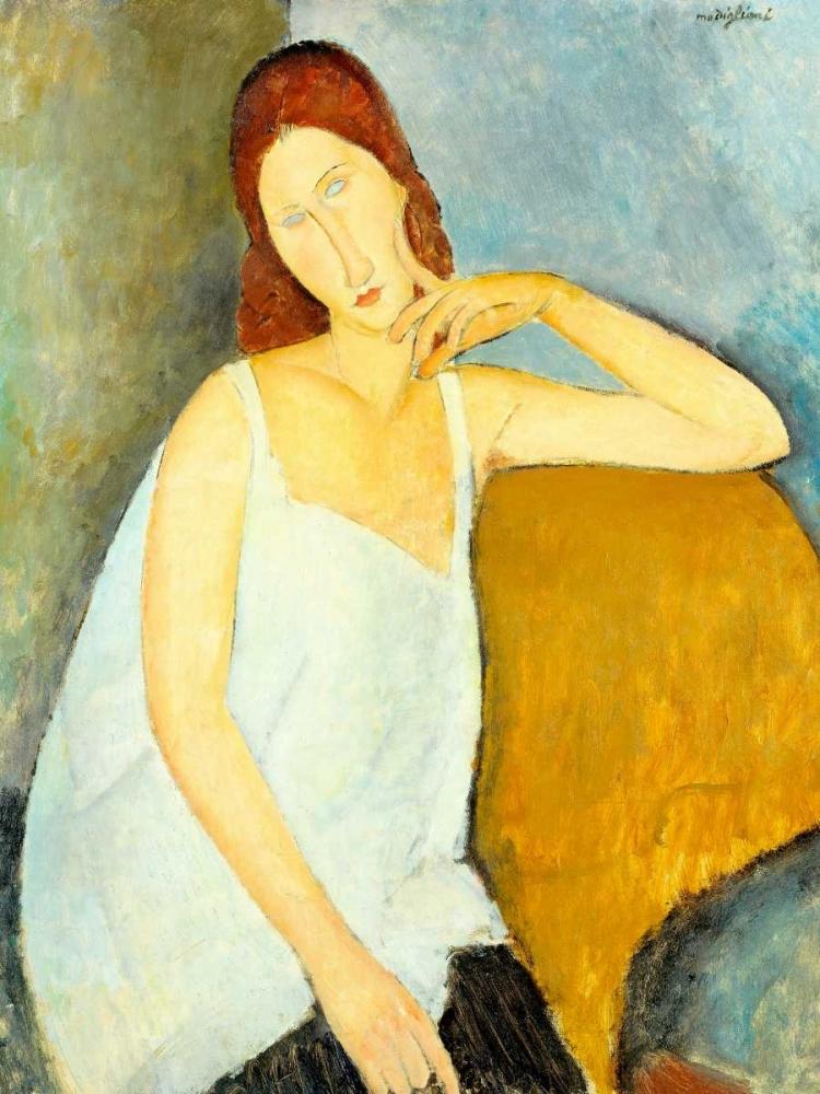 konfigurieren des Kunstdrucks in Wunschgröße Jeanne He´buterne von Modigliani, Amedeo