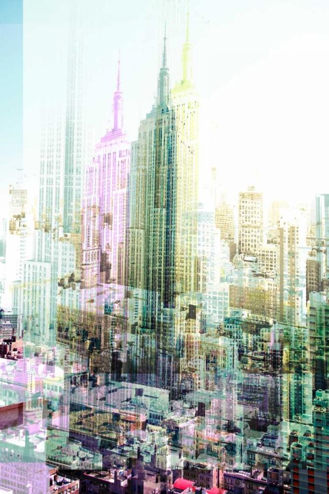 konfigurieren des Kunstdrucks in Wunschgröße Empire State Building Multiexposure I von Berry, Peter
