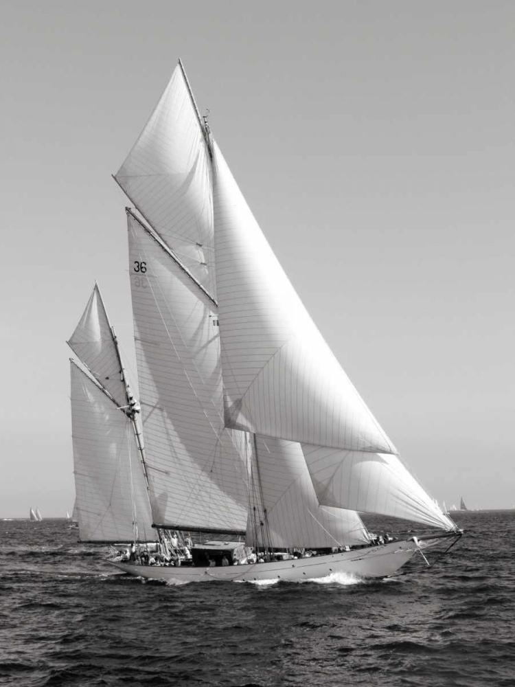konfigurieren des Kunstdrucks in Wunschgröße Classic sailboat von Anonymous