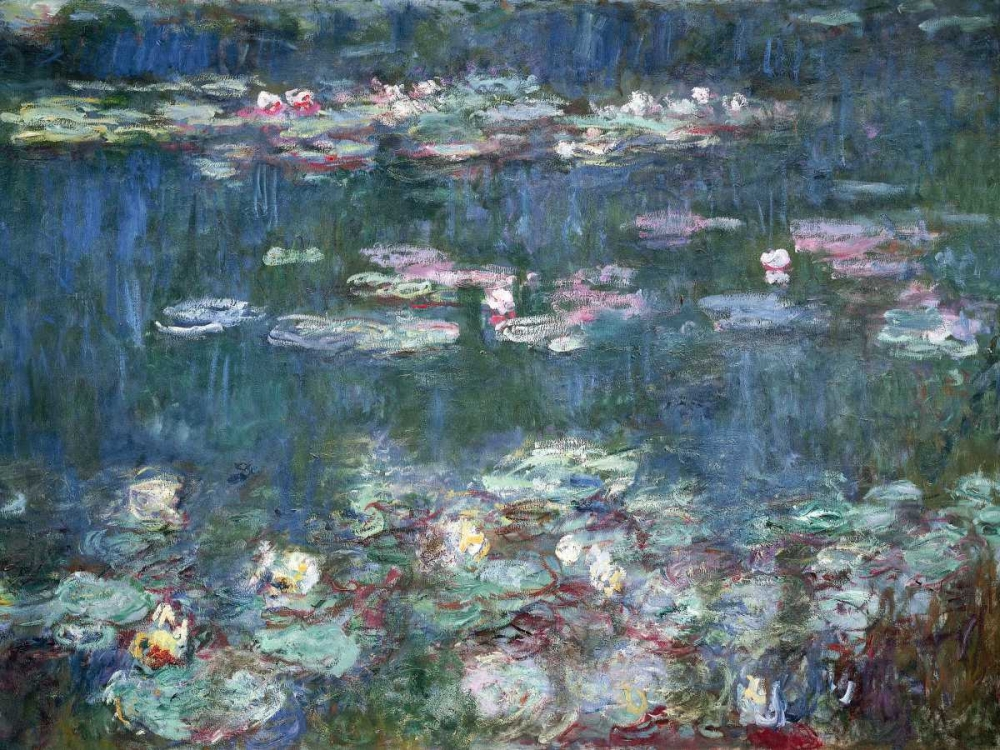 .,Landscape,Nature,,,,3CM002,Water-Lilies,Monet, Claude,Horizontal