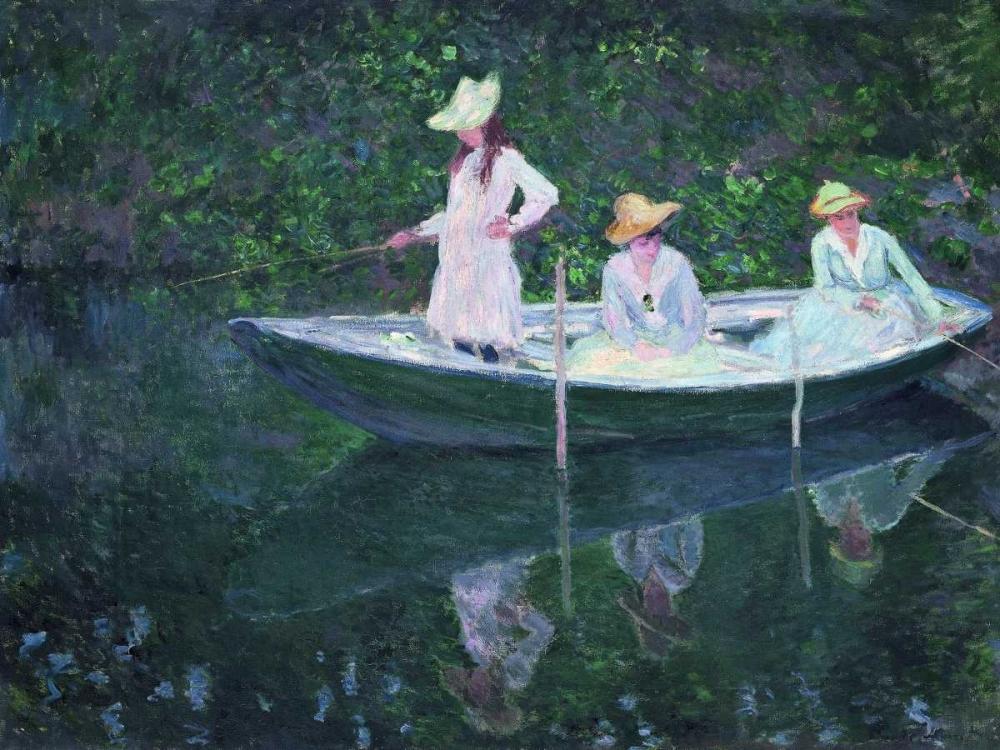 konfigurieren des Kunstdrucks in Wunschgröße En Norvegienne von Monet, Claude