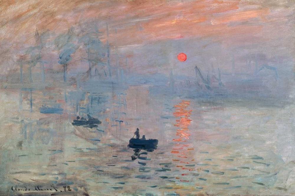 konfigurieren des Kunstdrucks in Wunschgröße Impression au soleil levant von Monet, Claude