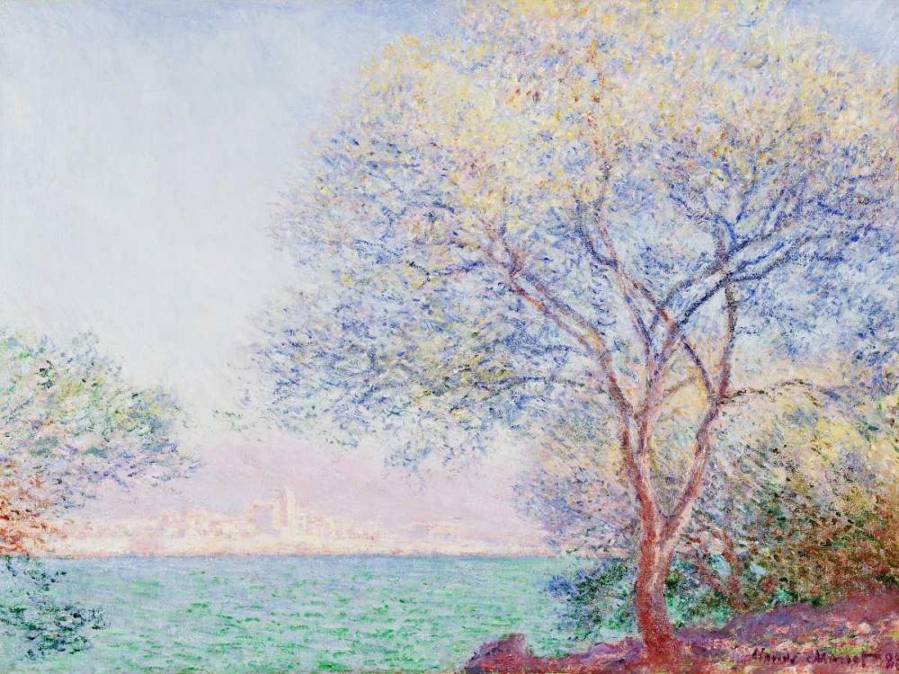 konfigurieren des Kunstdrucks in Wunschgröße Morning Antibes von Monet, Claude