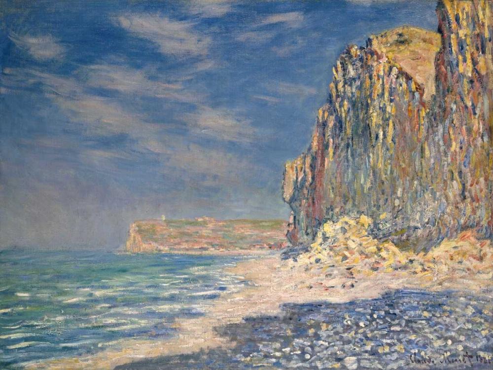 konfigurieren des Kunstdrucks in Wunschgröße Falaise near Fecamp von Monet, Claude