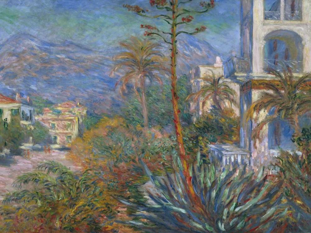 konfigurieren des Kunstdrucks in Wunschgröße The Villas at Bordighera von Monet, Claude