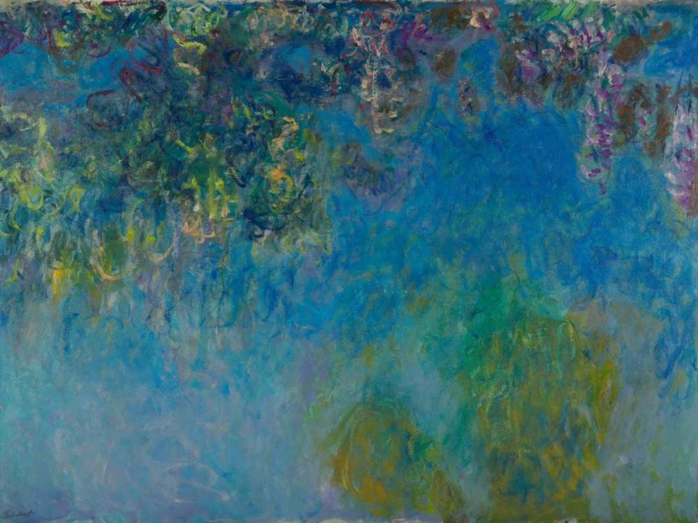 konfigurieren des Kunstdrucks in Wunschgröße Wisteria von Monet, Claude