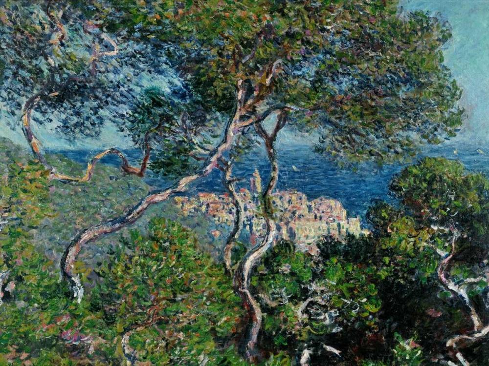 konfigurieren des Kunstdrucks in Wunschgröße View of Bordighera,Italy von Monet, Claude