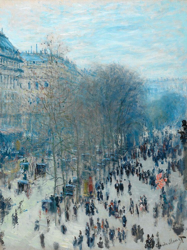 konfigurieren des Kunstdrucks in Wunschgröße Boulevard des Capucines von Monet, Claude