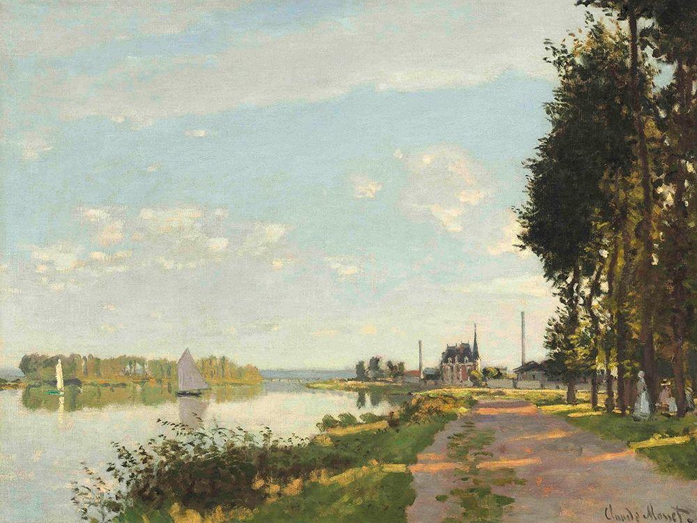 konfigurieren des Kunstdrucks in Wunschgröße Argenteuil von Monet, Claude