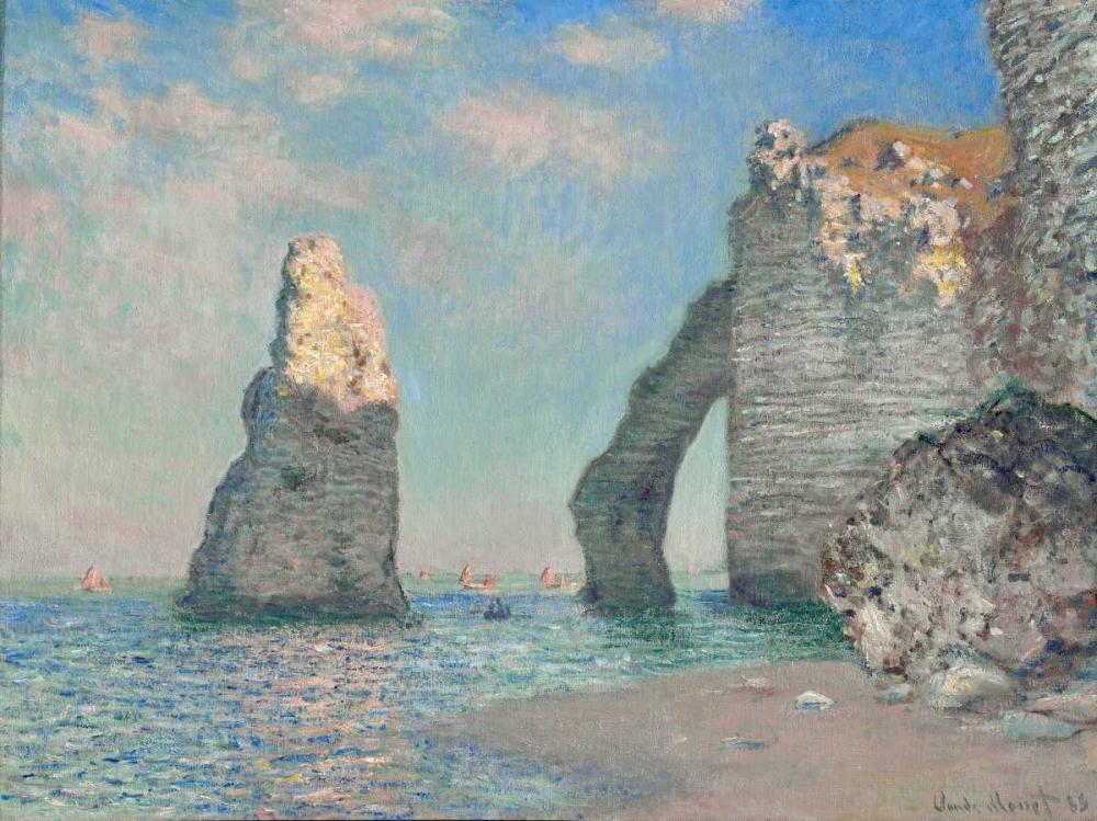 konfigurieren des Kunstdrucks in Wunschgröße The Cliffs at Etretat von Monet, Claude