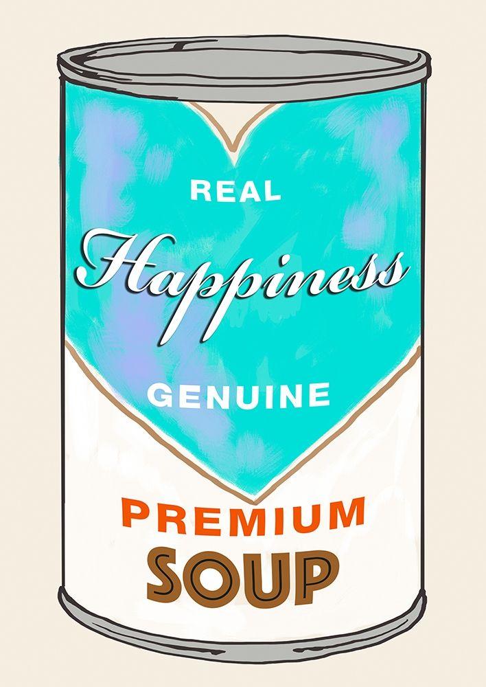 konfigurieren des Kunstdrucks in Wunschgröße Happiness Soup von Beyon, Carlos