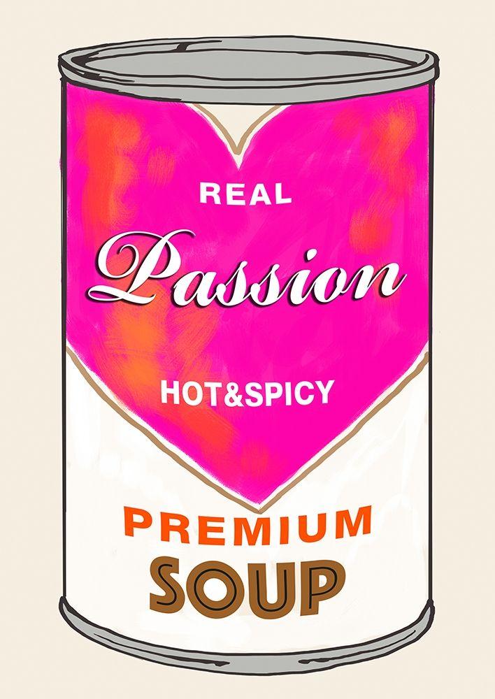 konfigurieren des Kunstdrucks in Wunschgröße Passion Soup von Beyon, Carlos