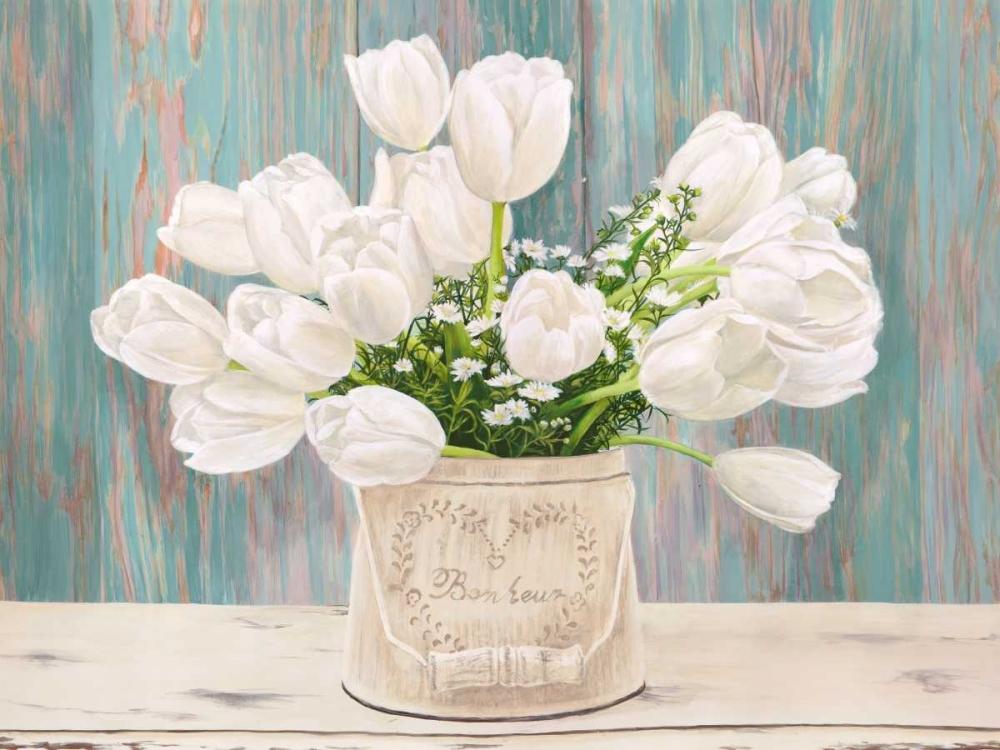 konfigurieren des Kunstdrucks in Wunschgröße Country Bouquet von Dellal, Remy