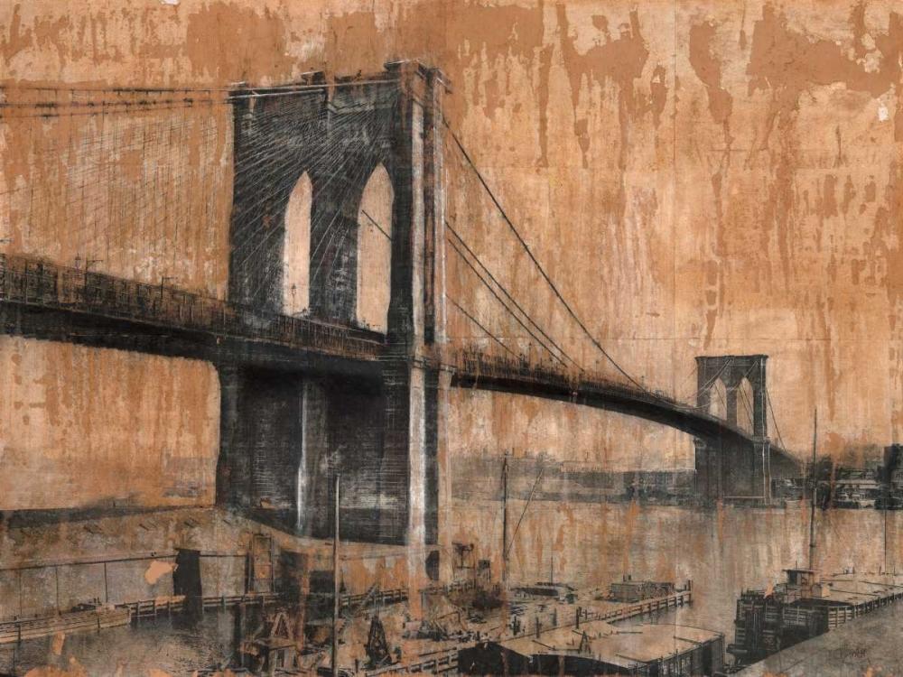 konfigurieren des Kunstdrucks in Wunschgröße Brooklyn Bridge 2 von Moschetta, Dario